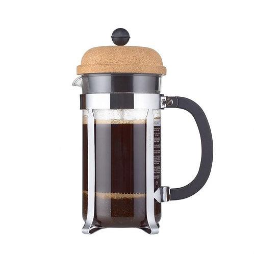 Cafetière piston Chambord liège 1L 8 tasses