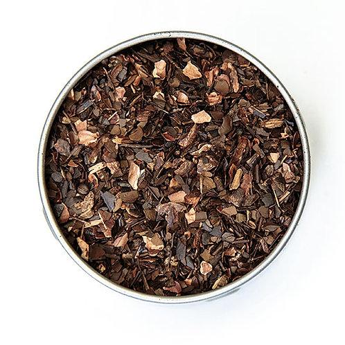 Thé maté grillé au chocolat