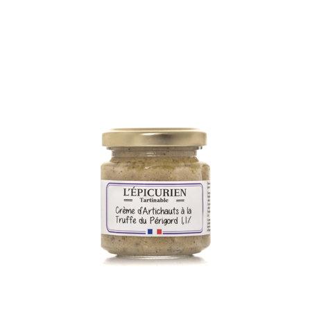 Crème d'artichaut à la truffe du Périgord