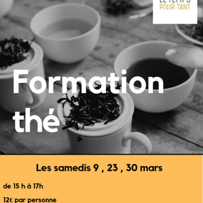 Formation thé 9 mars 2019
