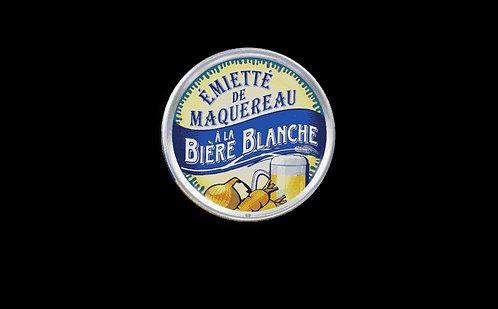 Emietté de maquereau à la bière blanche