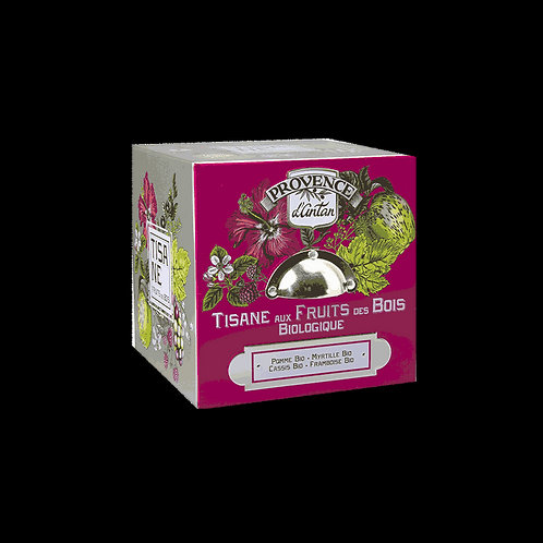 Cube tisane fruit des bois bio