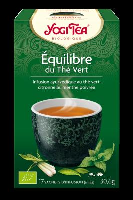Tisane équilibre du thé vert