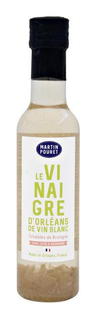 Vinaigre d'Orléans de vin blanc aux échalotes 25cl