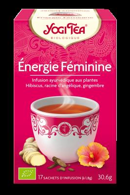 Tisane énergie féminine