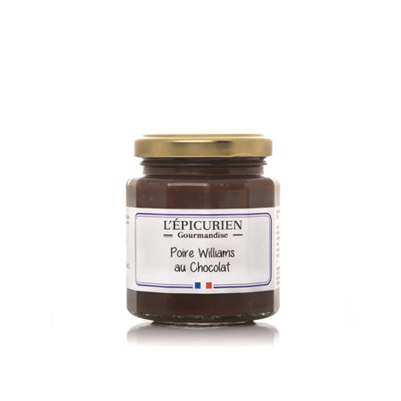 Poire Williams au chocolat