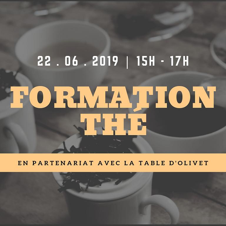 Formation thé samedi 22 juin