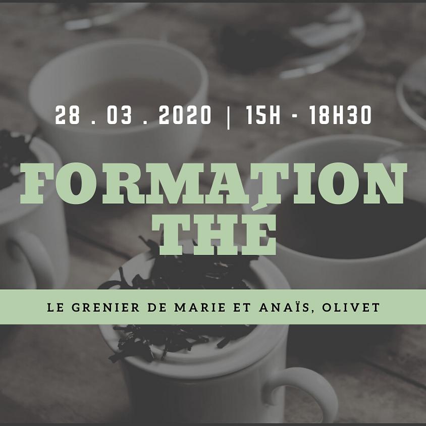 Formation thé samedi 28 mars