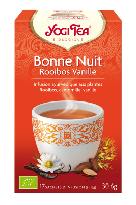 Tisane bonne nuit rooibos vanille
