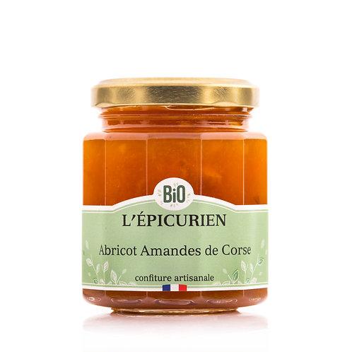Confiture abricot amandes de Corse bio