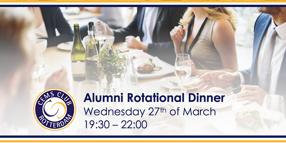 Alumni Rotation Dinner and Informal Drinks