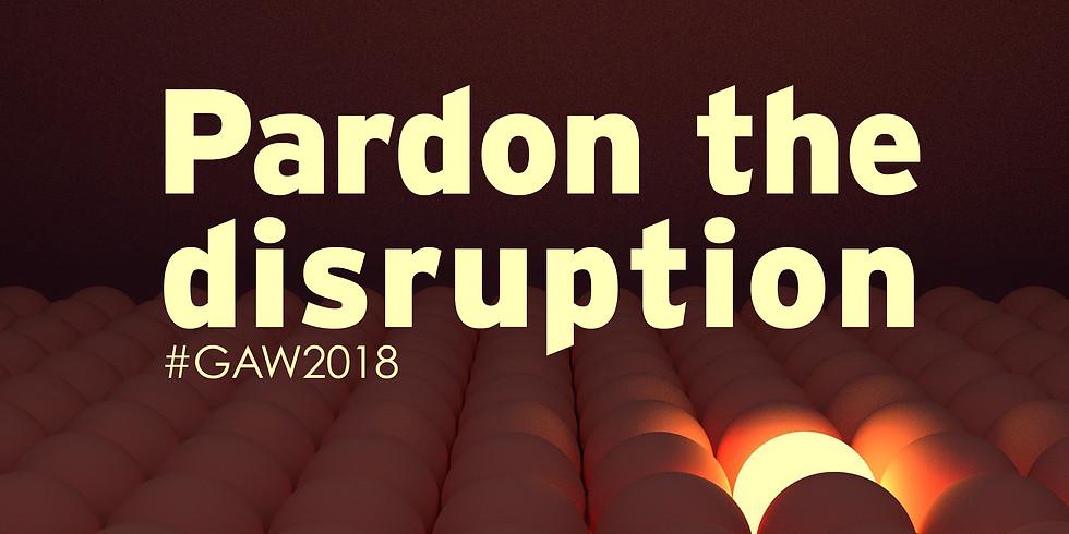 "Entrepreneurship Panel: ""Pardon the Disruption"" GAW 2018"