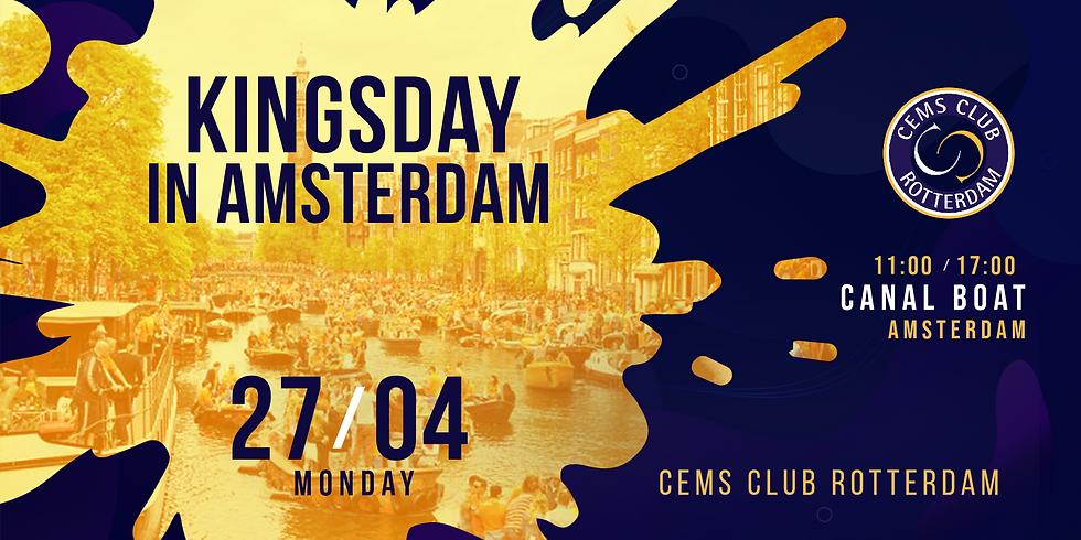 Kingsday in Amsterdam
