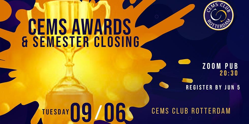 CEMS Awards & Semester Closing