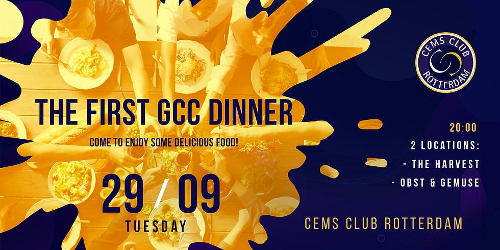 GCC Dinner #1