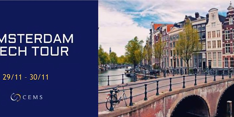 Amsterdam Tech Tour 2018