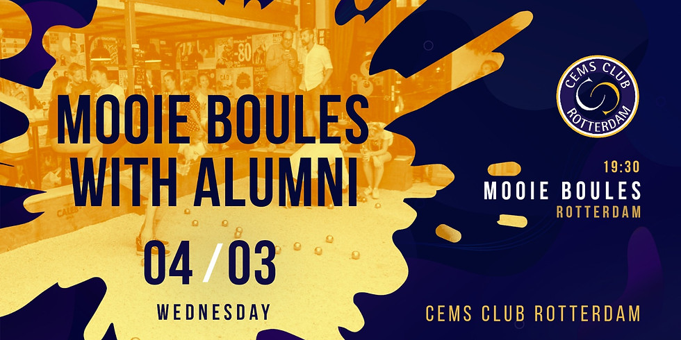 Mooie Boules with Alumni