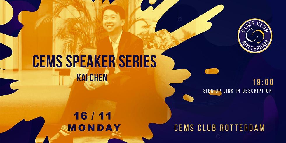 CEMS SPEAKER SERIES with Kai Chen