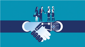 synergetic collaboration between humans and tech
