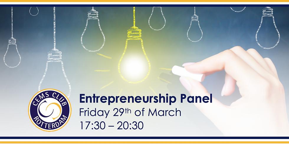 Entrepreneurship Panel during Global Alumni Week