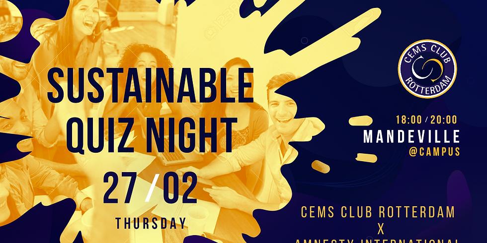 Sustainable Quiz Night