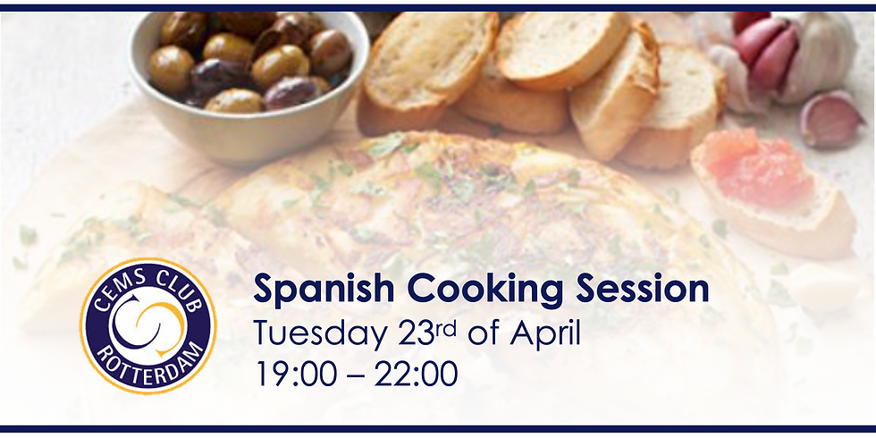 Spanish Cooking Session for Sant Jordi's Day