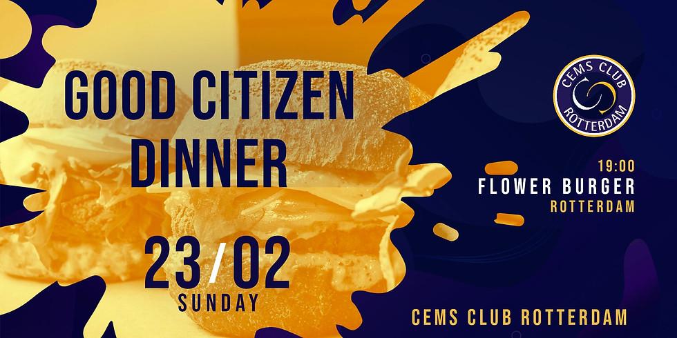 Good Citizen Dinner