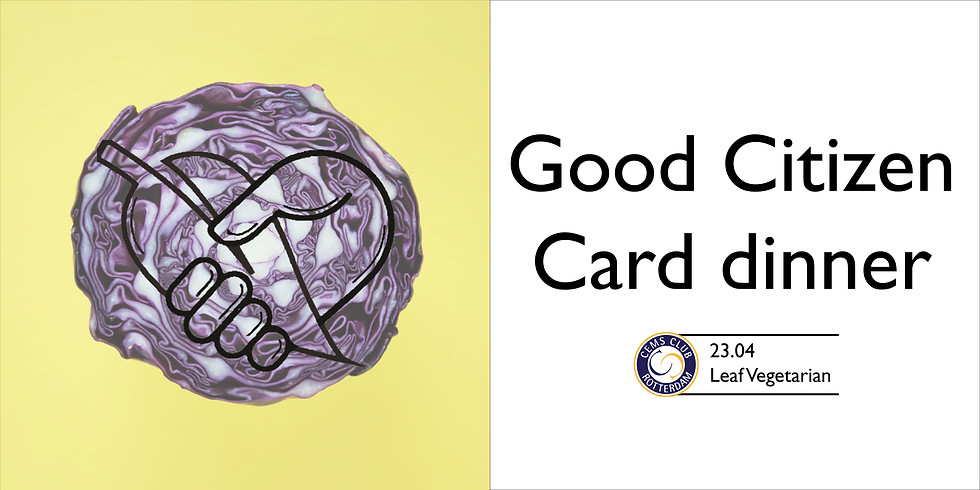 Good Citizen Card dinner