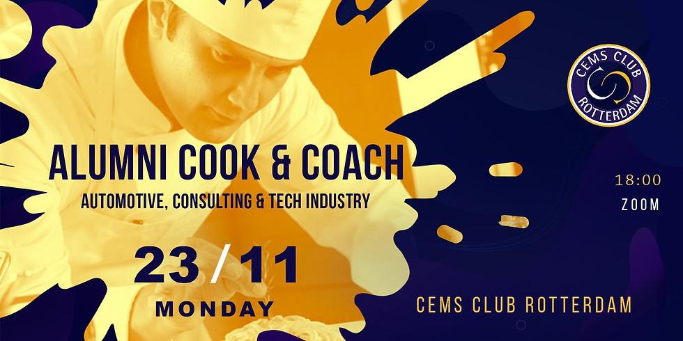 CEMS Alumni Cook & Coach Session