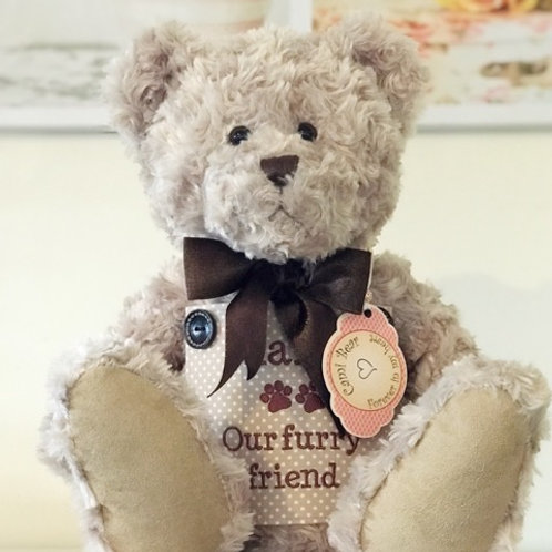 Teddy Bear Urn - made to order