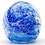 Thumbnail: Memorial Glass Globe Bubbles Med - Made to Order