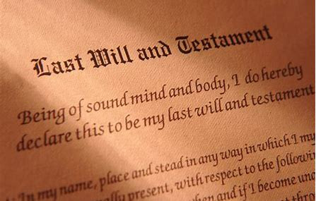 I Don't Need A Will...Do I!