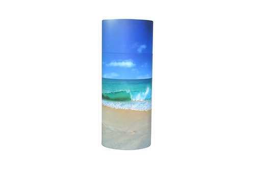 Beach Bio Scattering Cremation Urn