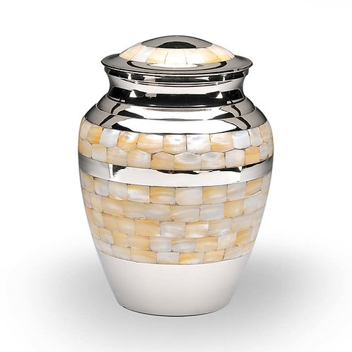 Mother of Pearl Adult Urn