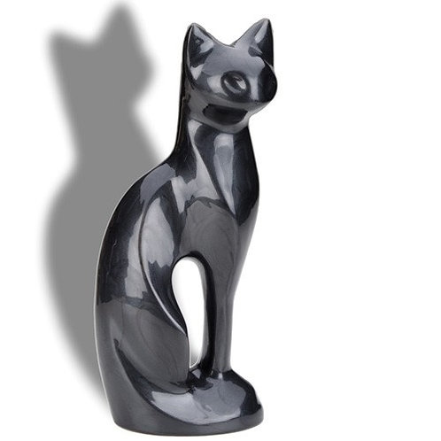 Cat Statue Slate