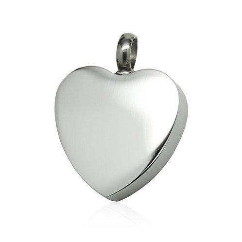 Classic Heart - Silver Colour