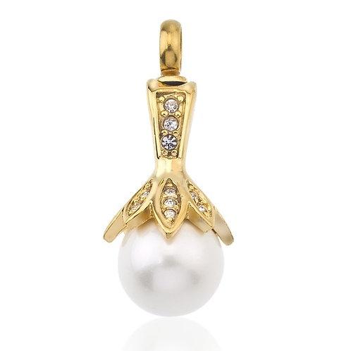 Pearl Flower Pendant Urn