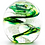 Thumbnail: Memorial Glass Globe Spiral Small- Made to Order