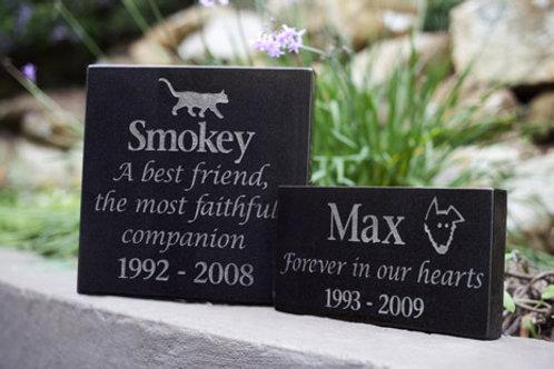 Granite Plaque Pet Memorial
