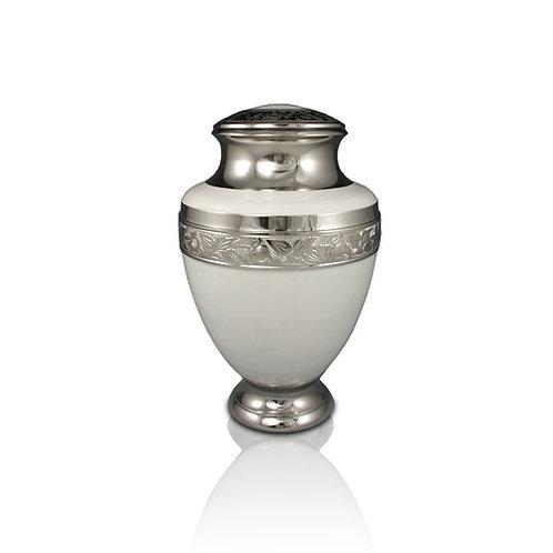 Elegant White Urn Adult