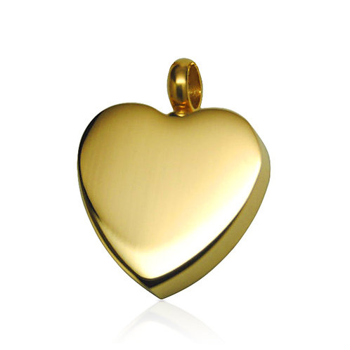 Classic Heart- Gold Colour