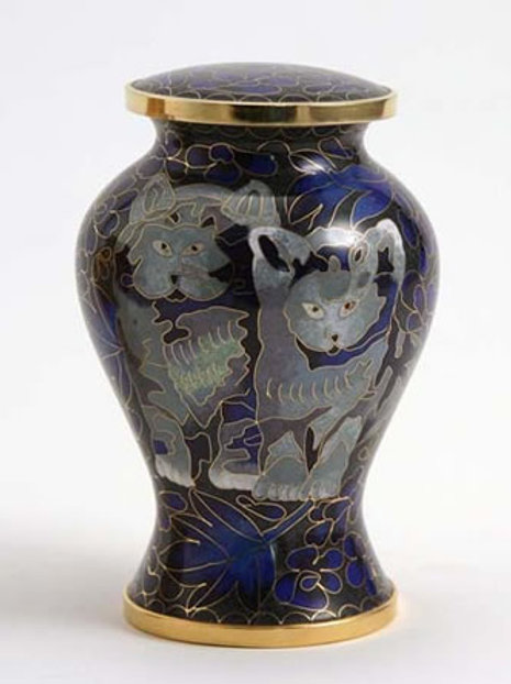 Kitty Cloisonne