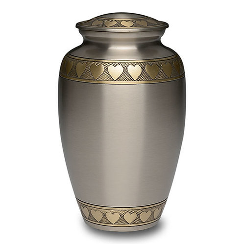 Golden Hearts Urn  Adult
