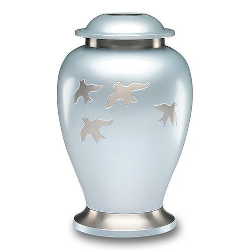 Silver Birds Urn Adult