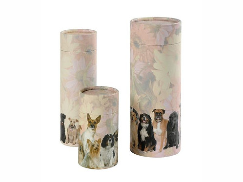Dog Breeds Scatter Tube