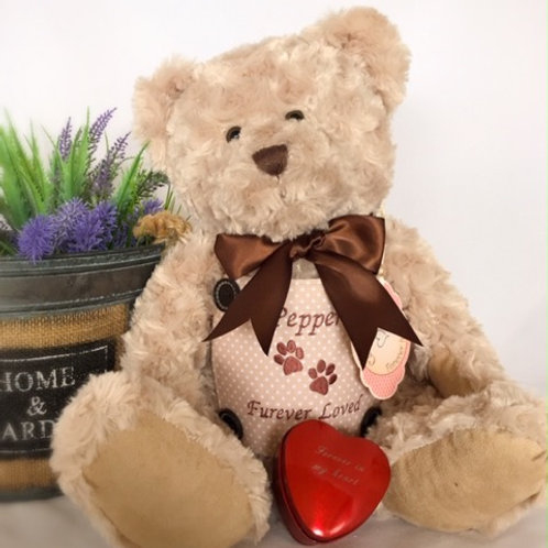 Extra Large Teddy bear Urn  - made to order