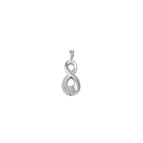 Infinity Cremation Jewellery Pendant