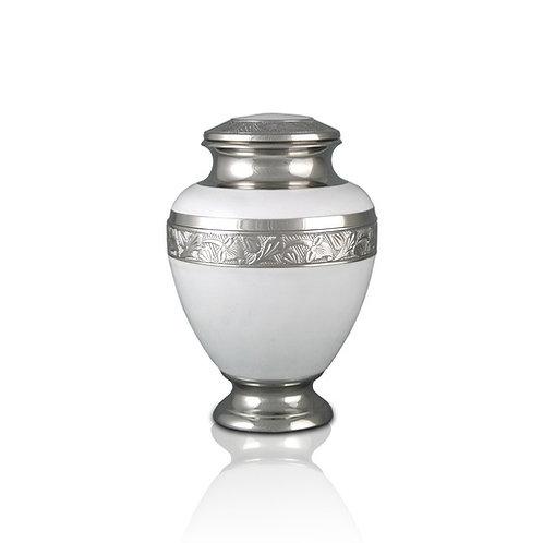 Elegant White Urn