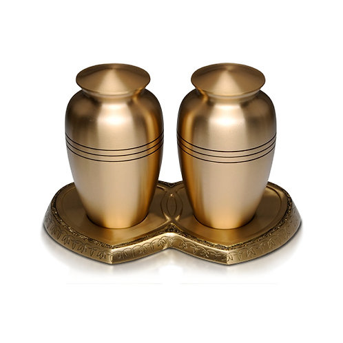 Brass Double Urn