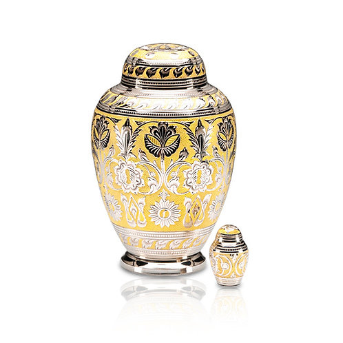 Gold and Silver Urn Adult